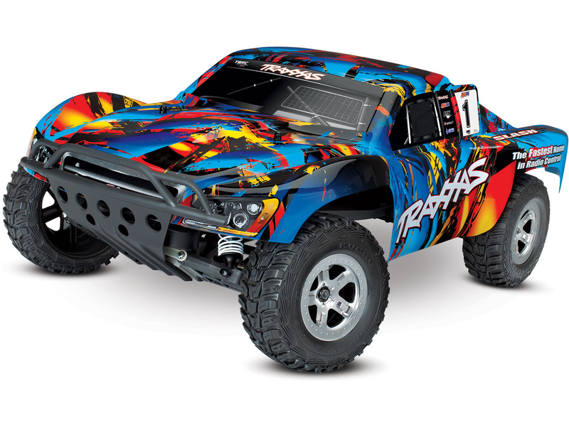 Traxxas Slash 1:10 RTR Rock'n Roll, TRA58024-RNR