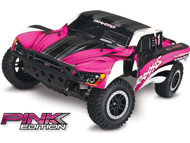 Traxxas Slash 1:10 RTR růžový, TRA58034-1-PNK, Traxxas 58034-1-PNK