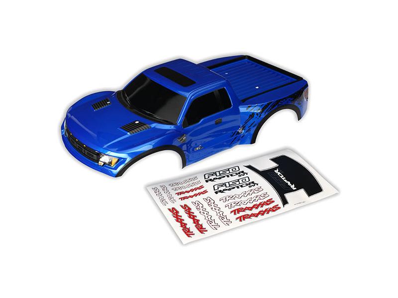 Ford Raptor: Karosérie modrá, samolepky, Traxxas 5815A , TRA5815A