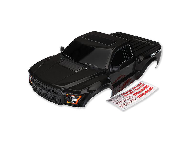 Ford Raptor 2017: Karosérie černá, Traxxas 5826A , TRA5826A