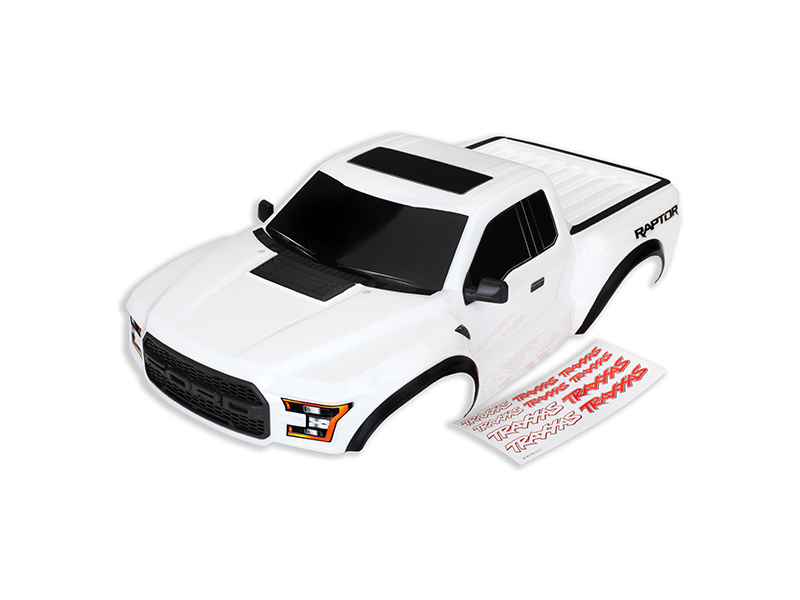 Ford Raptor 2017: Karosérie bílá, Traxxas 5826X , TRA5826X
