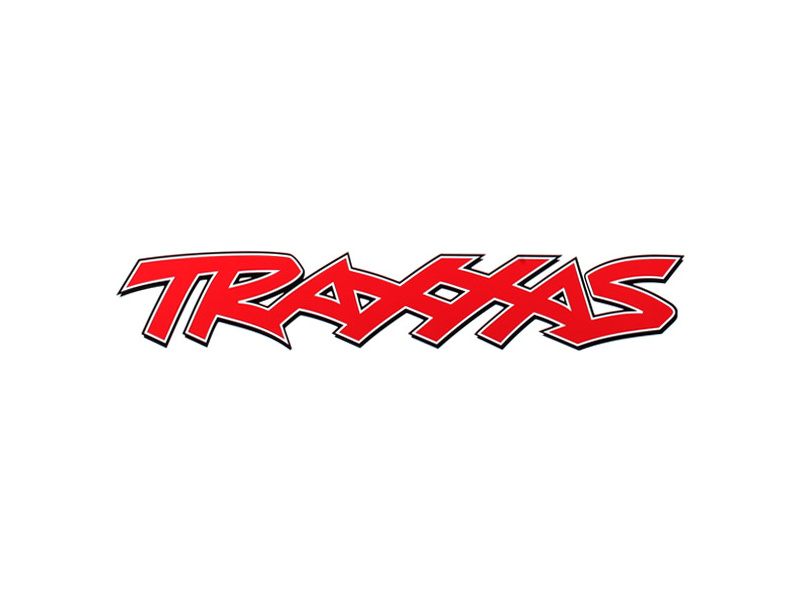 Traxxas PVC samolepka červená 32x7cm