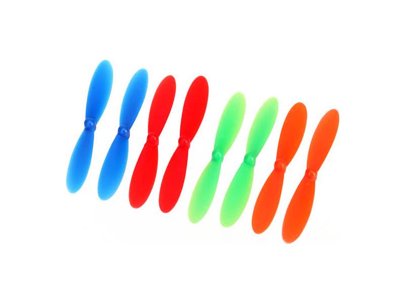 Traxxas QR-1: Rotorové listy (4+4), TRA6226, Traxxas 6226
