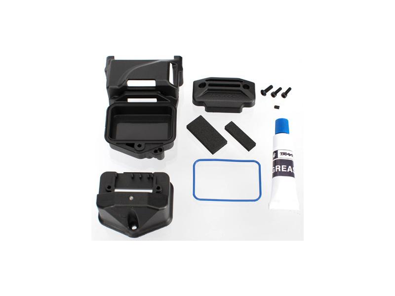 XO-1 - krabička elektroniky s příslušenstvím, TRA6424, Traxxas 6424
