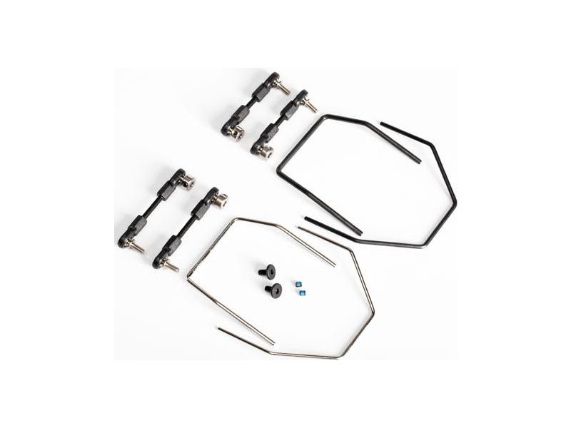 XO-1: Sada příčných stabilizátorů s přísl., TRA6498, Traxxas 6498