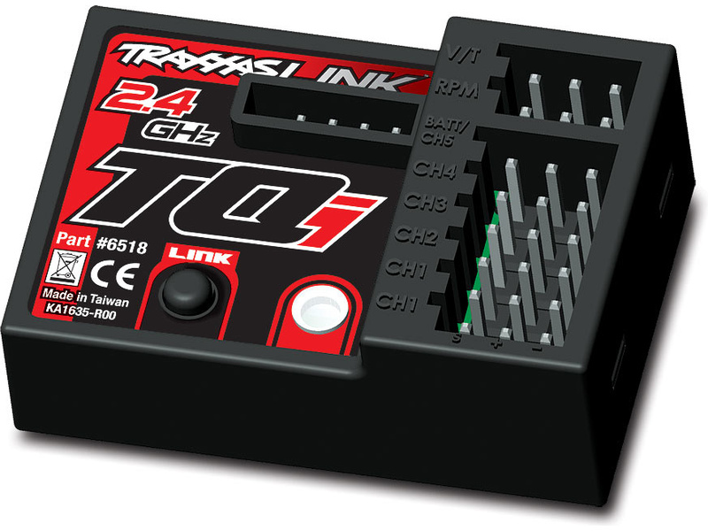 Traxxas - přijímač TQi 5 kan., telemetrie, TRA6518, Traxxas 6518