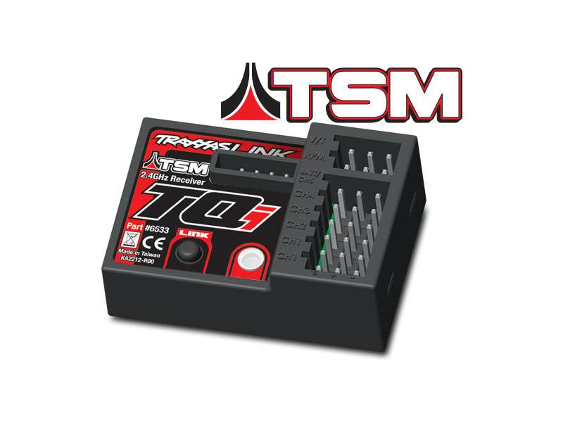 Traxxas - přijímač TQi 5 kan. TSM, telemetrie, Traxxas 6533 , TRA6533