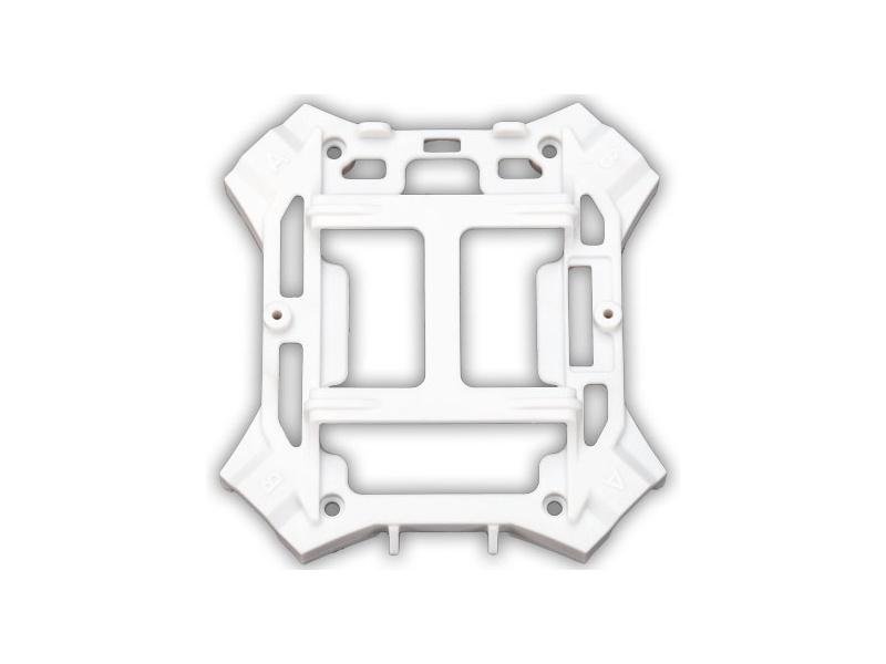 LaTrax Alias: Spodní šasi bílé (4), Traxxas 6624A , TRA6624A