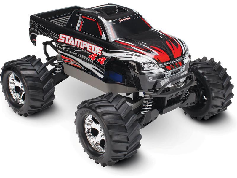Traxxas Stampede 1:10 4WD RTR černý, TRA67054-1-BLK, Traxxas 67054-1-BLK