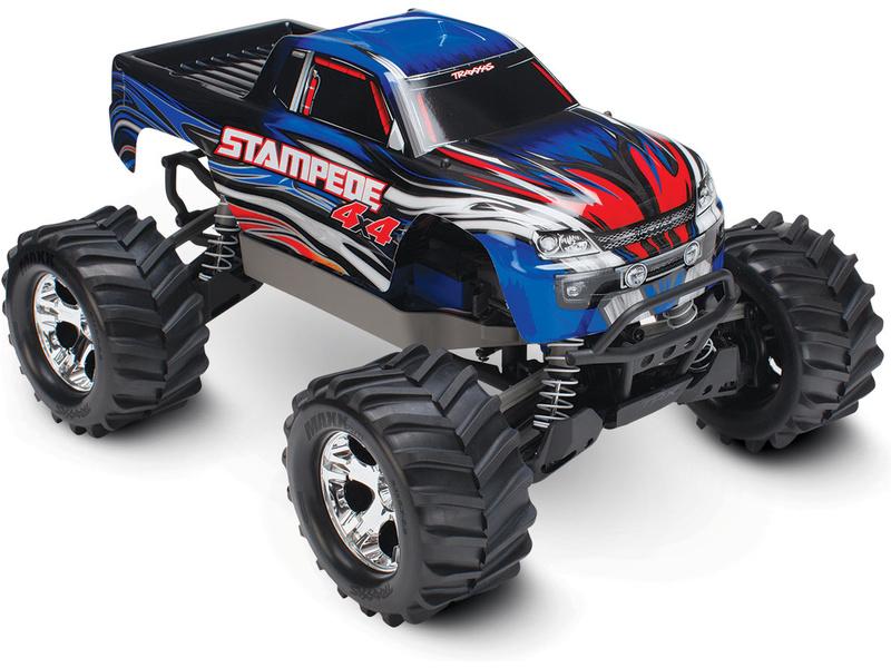 Traxxas Stampede 1:10 4WD RTR modrý, TRA67054-1-BLU, Traxxas 67054-1-BLU