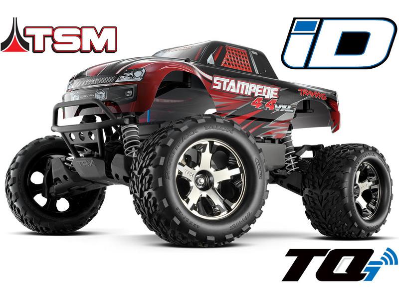 Traxxas Stampede 1:10 VXL 4WD TQi TSM RTR bez aku
