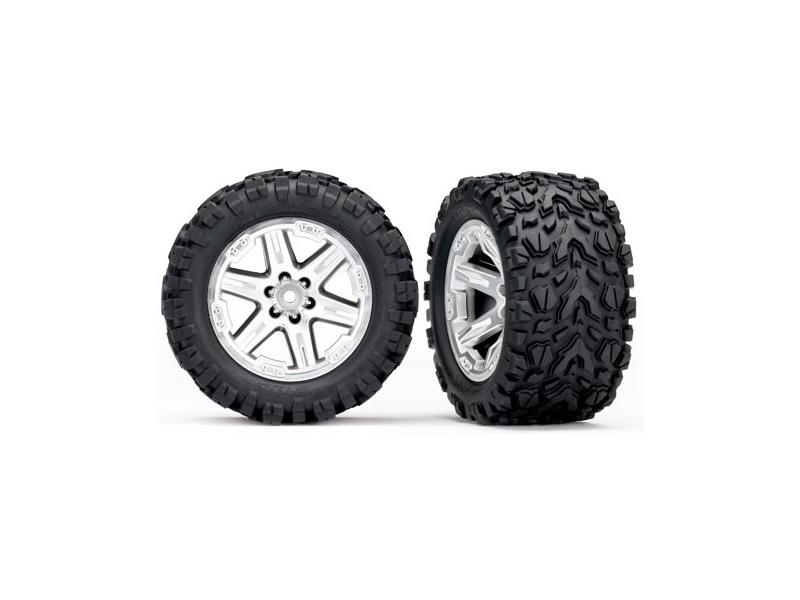 """Traxxas kolo 2.8"""", disk RXT saténový pneu Talon Extreme (pár), Traxxas 6773R, TRA6773R"""