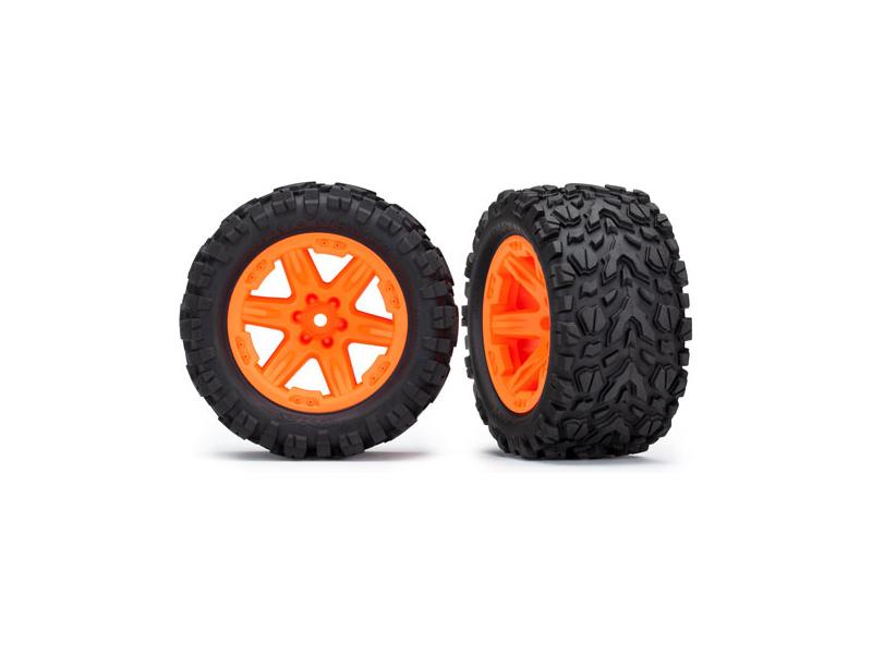"""Traxxas kolo 2.8"""", disk RXT oranžový, pneu Talon Extreme (pár) (zadní), Traxxas 6774A, TRA6774A"""
