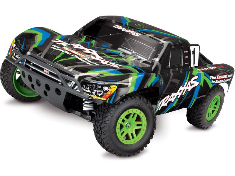 Traxxas Slash 1:10 4WD RTR zelený, TRA68054-1-GRN, Traxxas 68054-1-GRN
