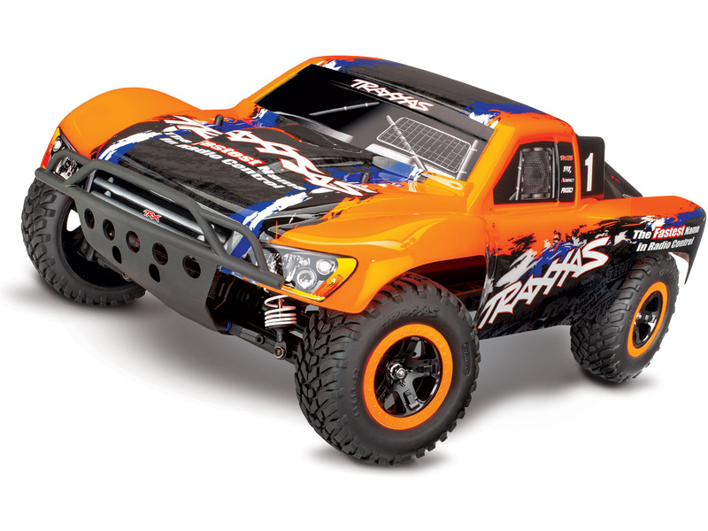 Traxxas Slash 1:10 VXL 4WD TQi RTR oranžový, TRA68086-4-ORN, Traxxas 68086-4-ORN