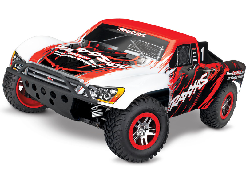 Traxxas Slash 1:10 VXL 4WD TQi RTR červený, TRA68086-4-RED, Traxxas 68086-4-RED