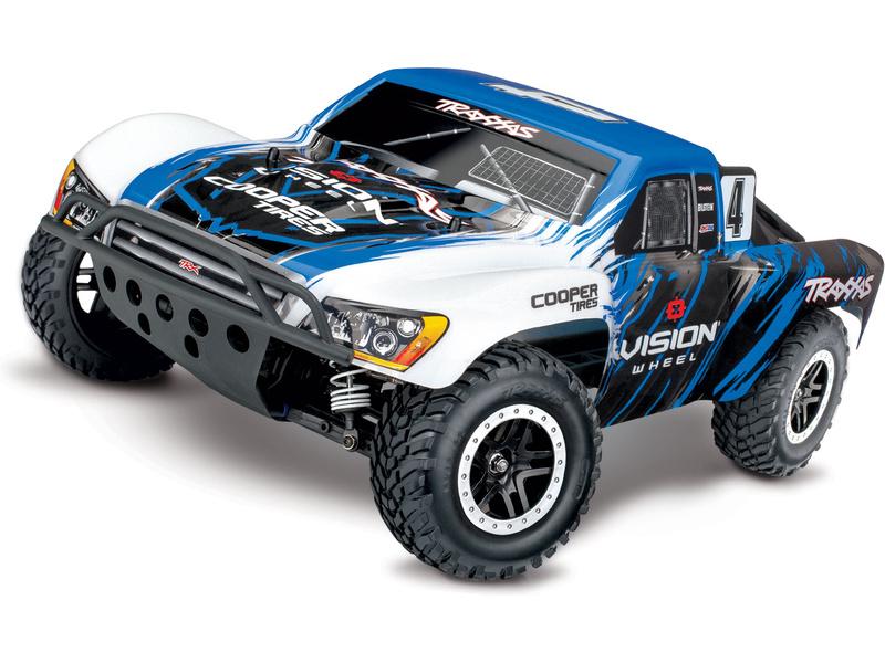 Traxxas Slash 1:10 VXL 4WD TQi RTR Vision, TRA68086-4-VIS, Traxxas 68086-4-VIS
