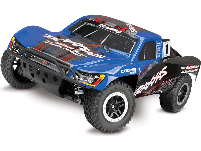 Traxxas Slash 1:10 VXL 4WD TQi TSM RTR bez aku