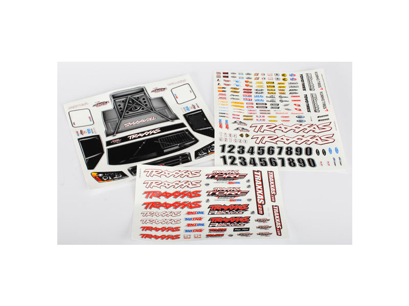 Slash 4x4 - samolepky, TRA6813, Traxxas 6813