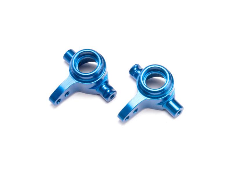 Traxxas - přední hliníková těhlice modrá (P+L), TRA6837X, Traxxas 6837X