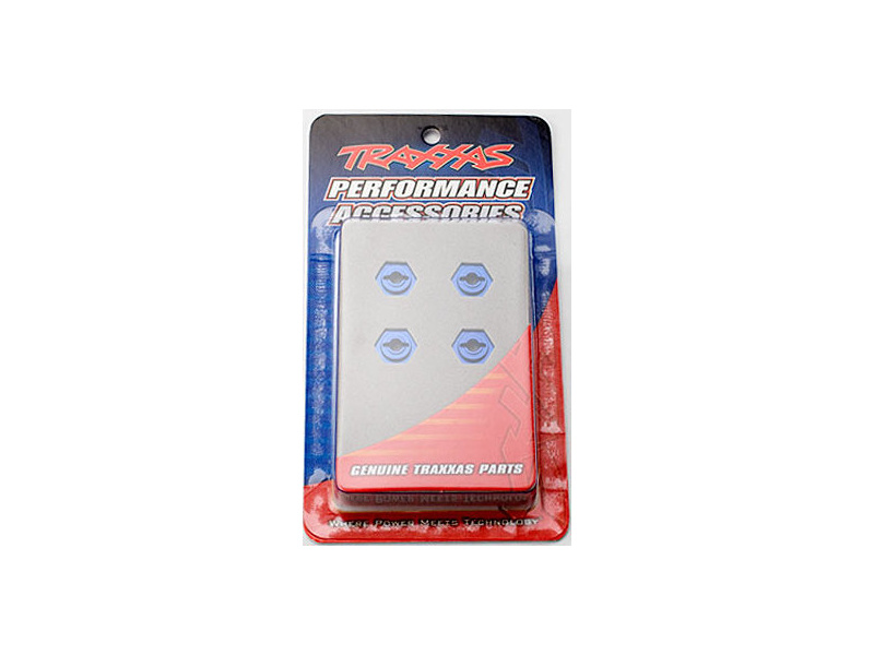Traxxas - hliníkový náboj kola modrý (4), TRA7154X, Traxxas 7154X