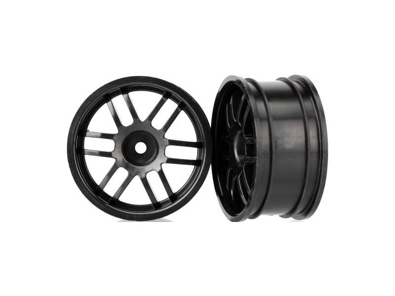 """Traxxas disk 1.9"""" Rally černý (2)"""