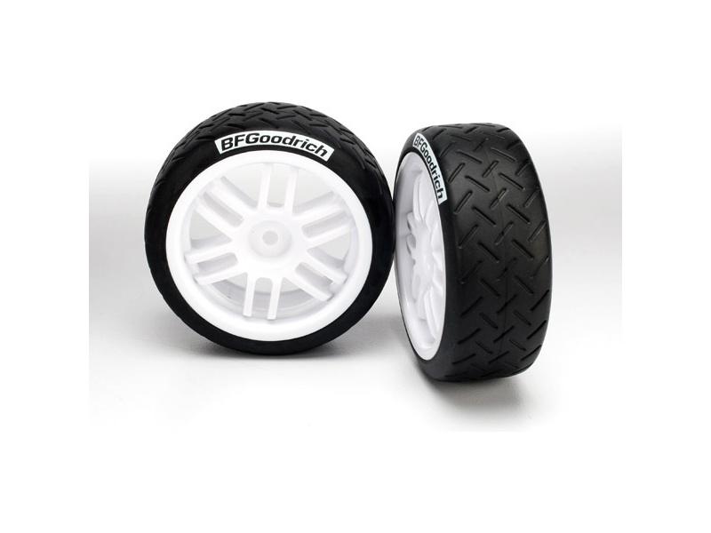 """Traxxas kolo 1.9"""", disk Rally bílý, pneu BFGoodrich (2), Traxxas 7372, TRA7372"""