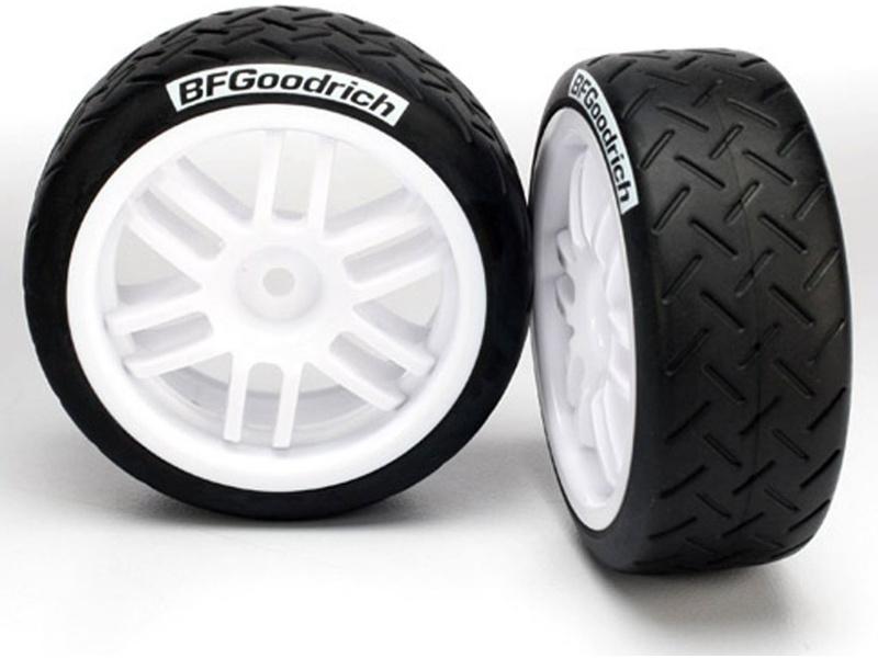 """Traxxas kolo 1.9"""", disk Rally bílý, pneu BFGoodrich S1 (2), Traxxas 7372R, TRA7372R"""