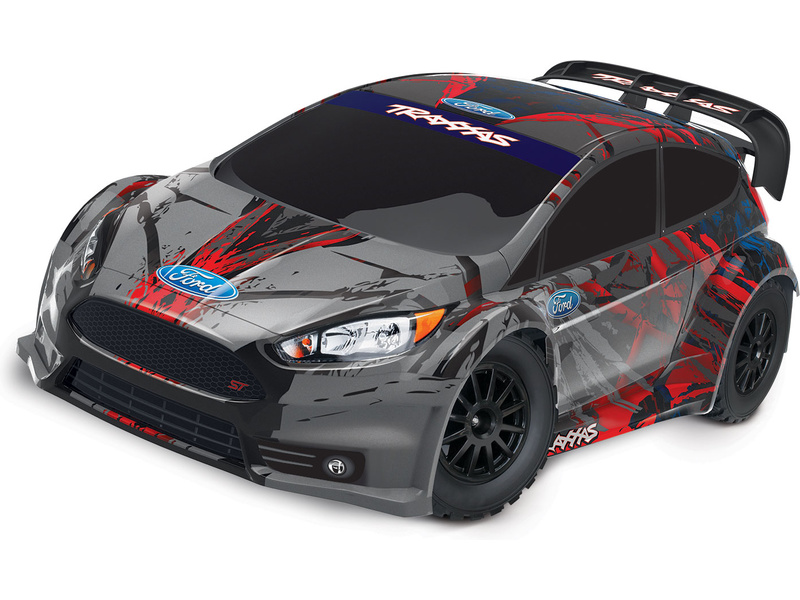 Traxxas Ford Fiesta 1:10 4WD RTR, TRA74054-4