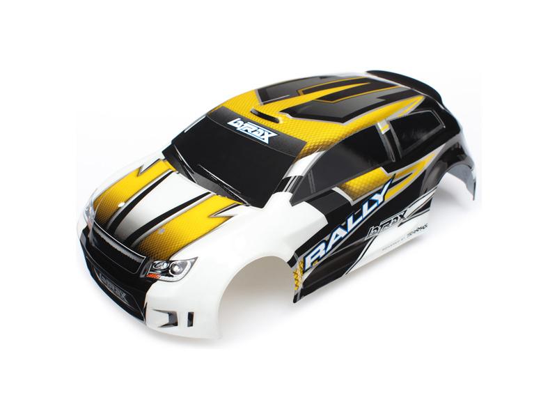 LaTrax Rally - Žlutá karosérie, samolepky, Traxxas 7512 , TRA7512