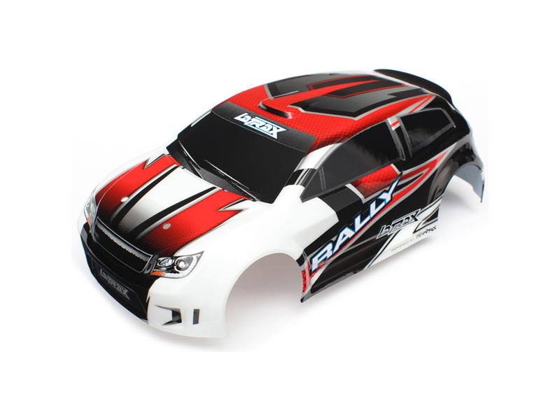 LaTrax Rally - Červená karosérie, samolepky, Traxxas 7515 , TRA7515