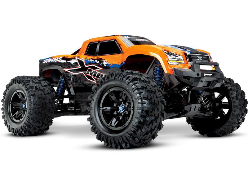 Traxxas X-Maxx 8S 1:5 4WD TQi RTR oranžový, TRA77086-4-ORX, Traxxas 77086-4-ORX