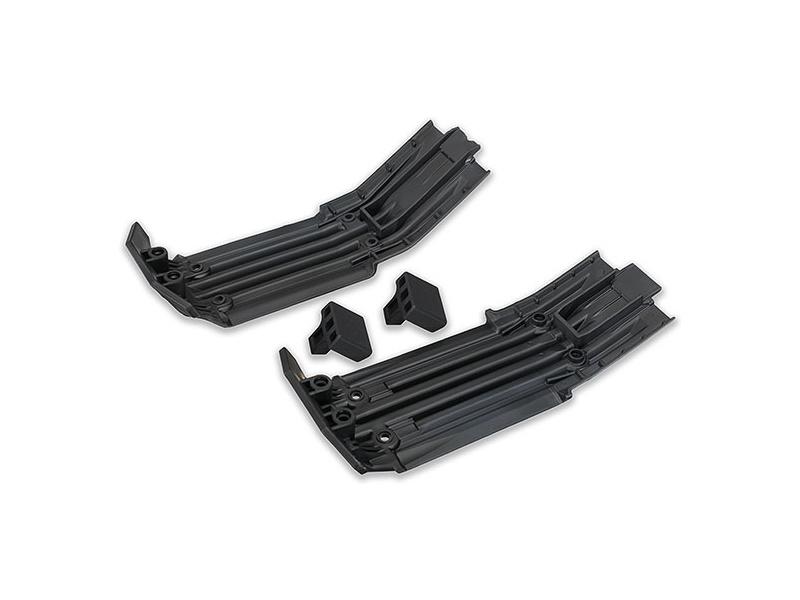 X-Maxx: Přední a zadní ochranný kryt šasi, TRA7744, Traxxas 7744