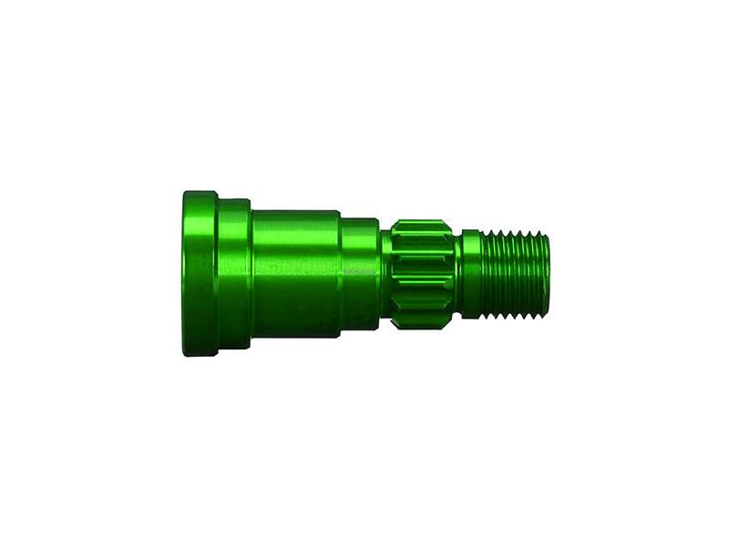 X-Maxx 8S: Hliníková hřídel kola zelená (1), Traxxas 7768G , TRA7768G