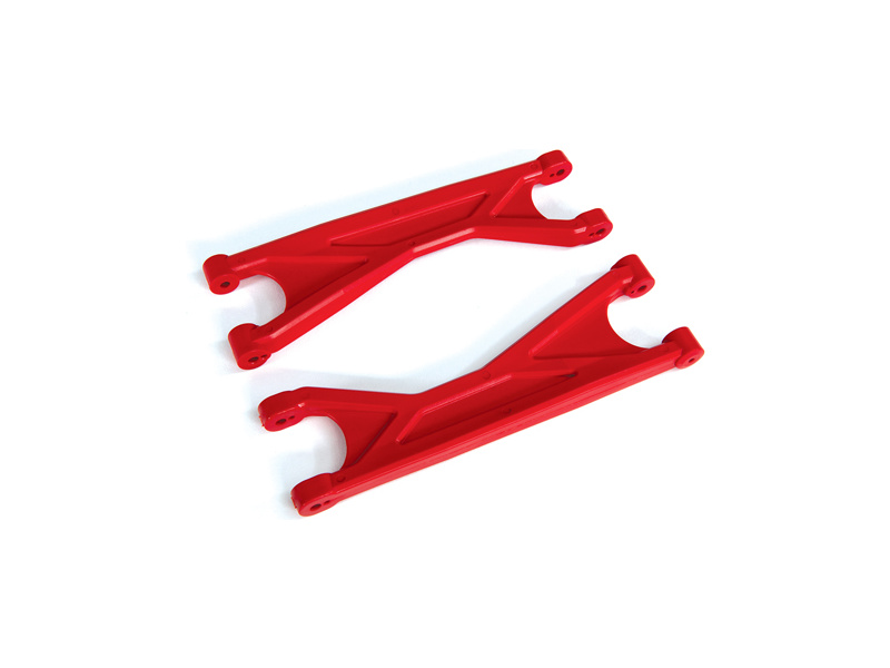 Traxxas ramena závěsu kol horní HD červené (2), Traxxas 7829R, TRA7829R