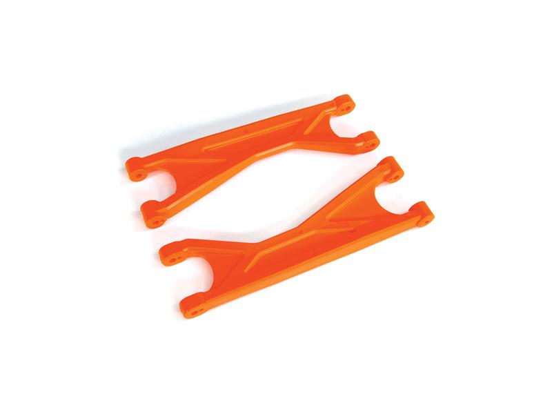 Traxxas ramena závěsu kol horní HD oranžové (2), Traxxas 7829T, TRA7829T