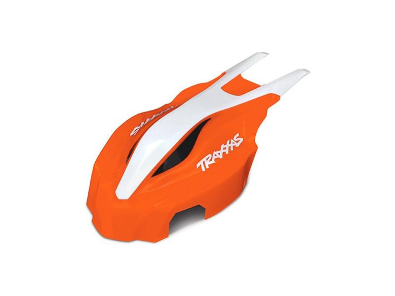 Aton: Přední kapotáž oranžová/bílá, Traxxas 7915 , TRA7915