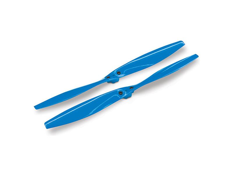 Aton: Vrtule modré (2) se šrouby, Traxxas 7929 , TRA7929