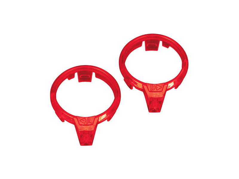 Aton: Světlovod motoru červený (P+L), Traxxas 7961 , TRA7961