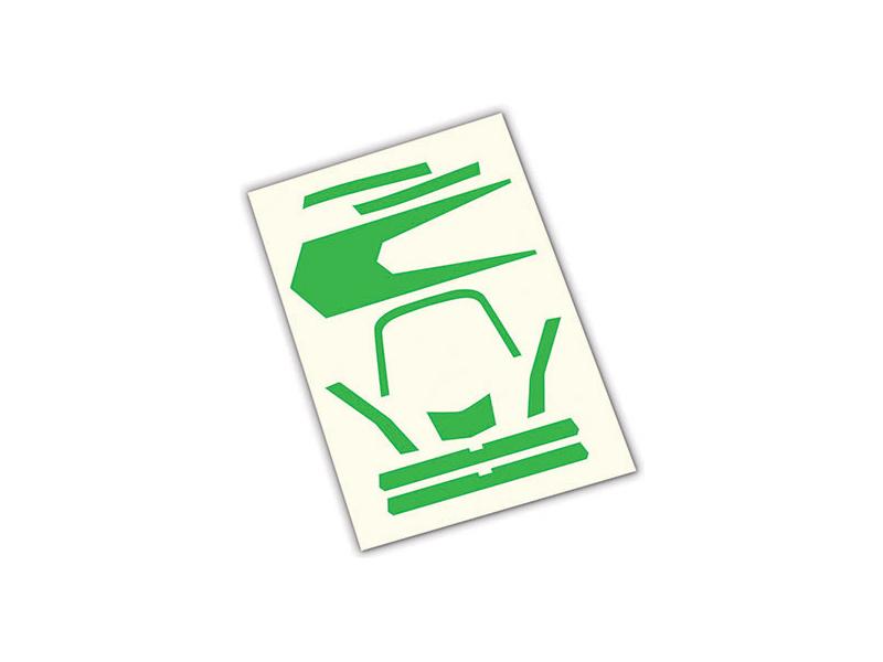 Aton: Samolepky zelené, Traxxas 7983 , TRA7983