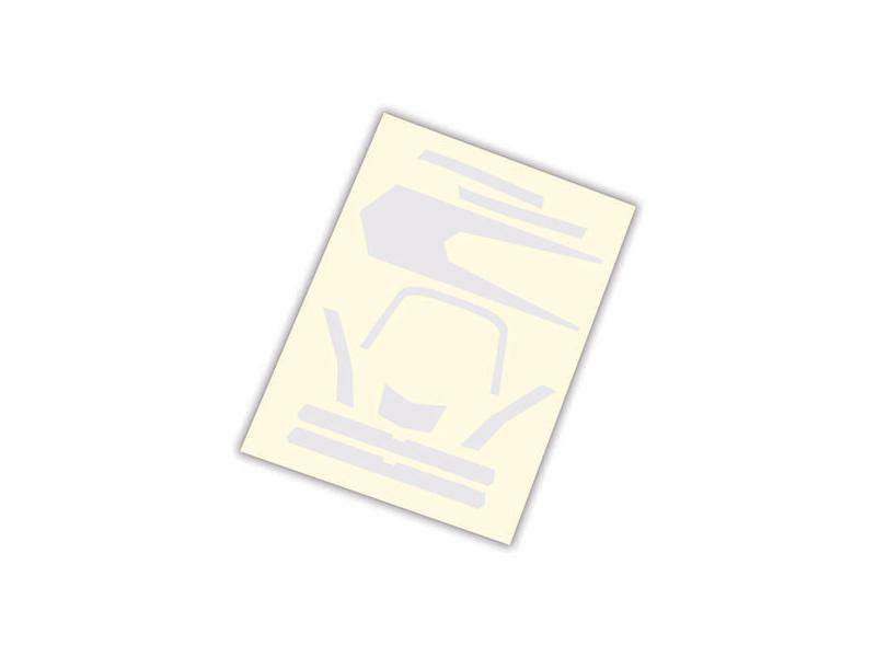 Aton: Samolepky bílé, Traxxas 7984 , TRA7984