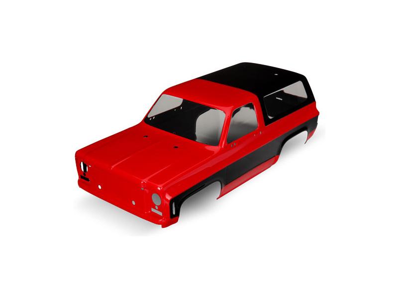 Traxxas karosérie Chevrolet Blazer 1979 červená, TRA8130A, Traxxas 8130A