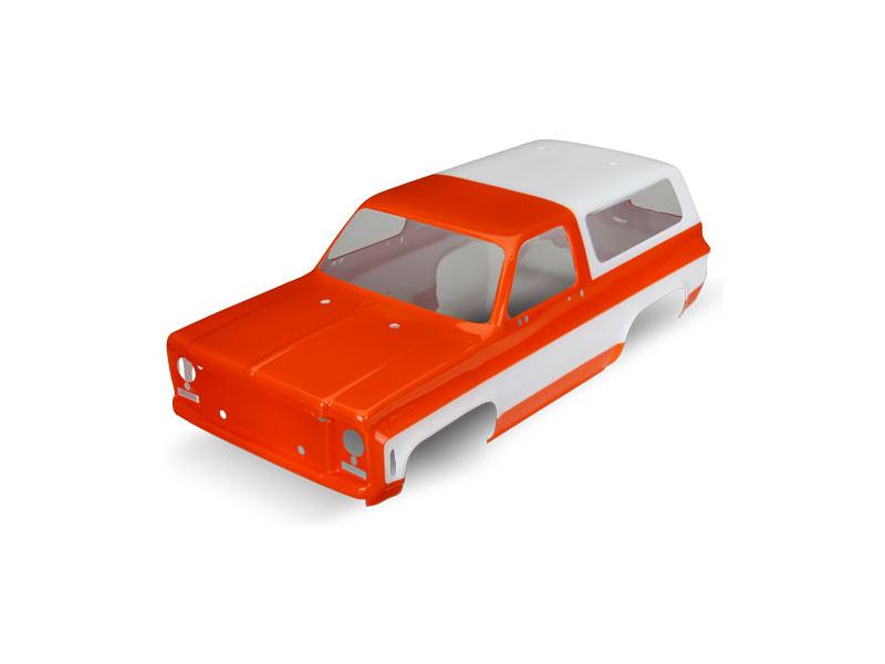Traxxas karosérie Chevrolet Blazer 1979 oranžová, TRA8130G, Traxxas 8130G