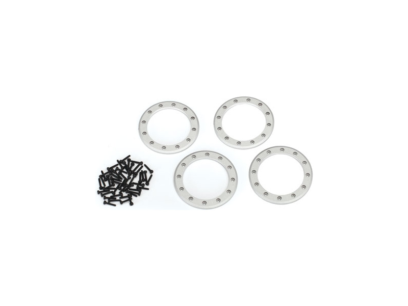 """Traxxas hliníkový beadlock kroužek 2.2"""" šedý (4), TRA8168, Traxxas 8168"""