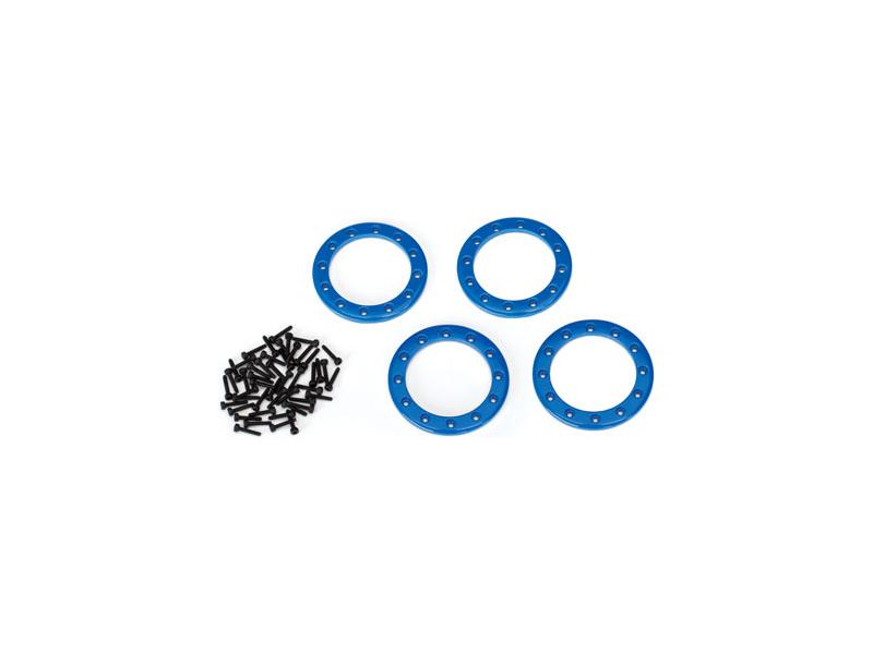 """Traxxas hliníkový Beadlock kroužek 1.9"""" modrý (4), TRA8169X, Traxxas 8169X"""