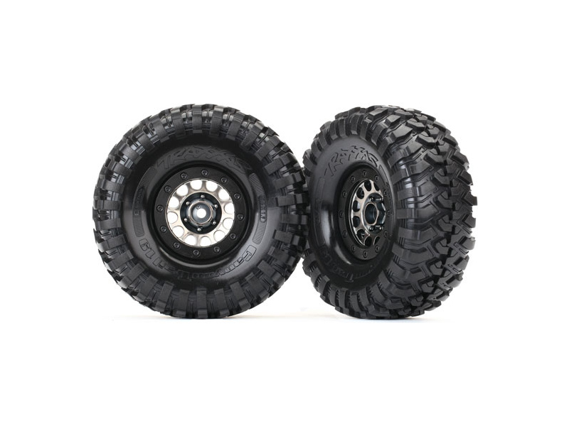 "Traxxas kolo Method 105 černé 1.9"", Canyon Trail (pár), TRA8174, Traxxas 8174"