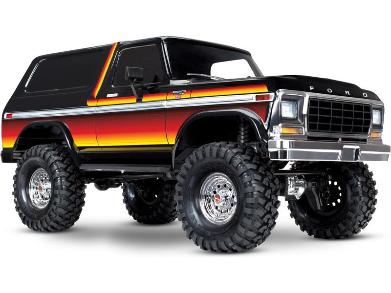 Náhľad produktu - Traxxas TRX-4 Ford Bronco 1:10 TQi RTR