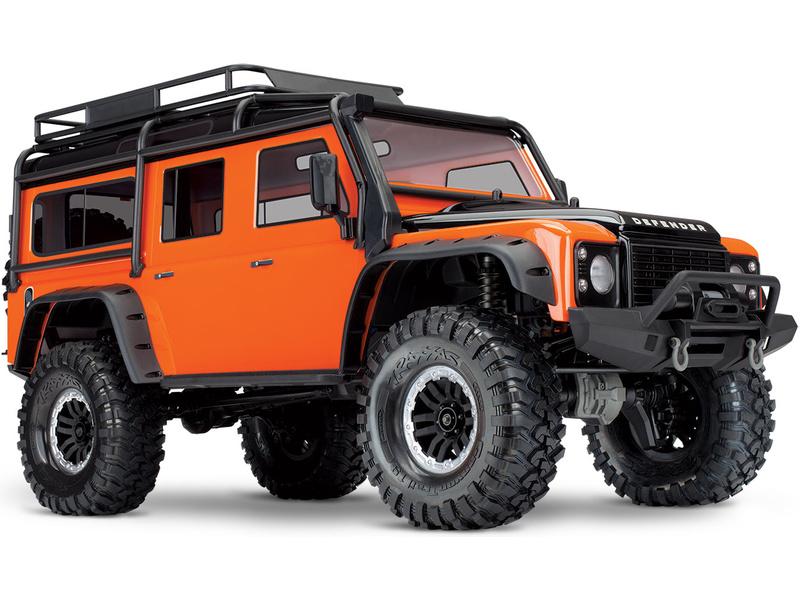 Náhľad produktu - Traxxas TRX-4 Land Rover Defender 1:10 TQi RTR Adventure
