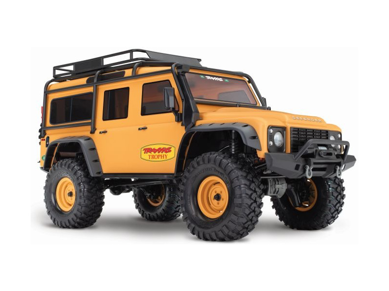 Traxxas TRX-4 Land Rover Defender 1:10 TQi RTR Trophy, TRA82056-4-C