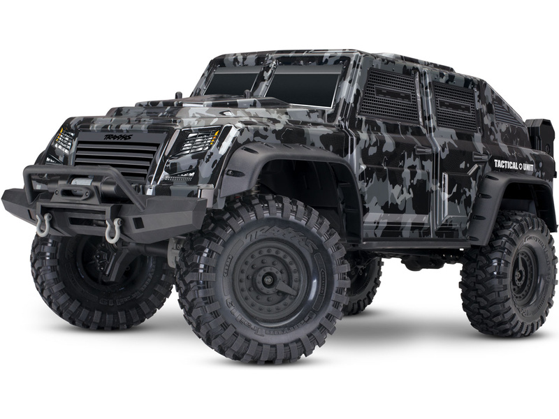 Traxxas TRX-4 Tactical Unit 1:10 TQi RTR, TRA82066-4